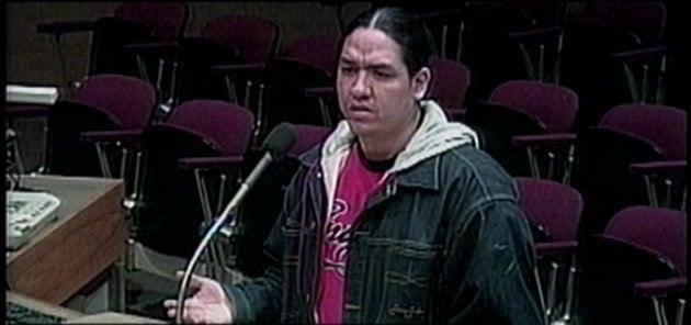 Shonto Pete addresses Spokane City Council Monday night