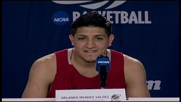 Orlando Mendez-Valdez said the Hilltoppers don't have a single selfish player on the team.