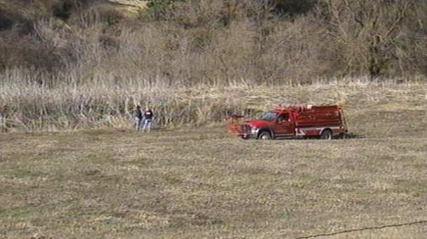Crews searching for child near creek