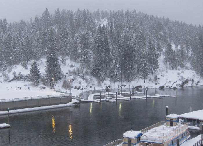 Coeur d'Alene on December 23, 2008