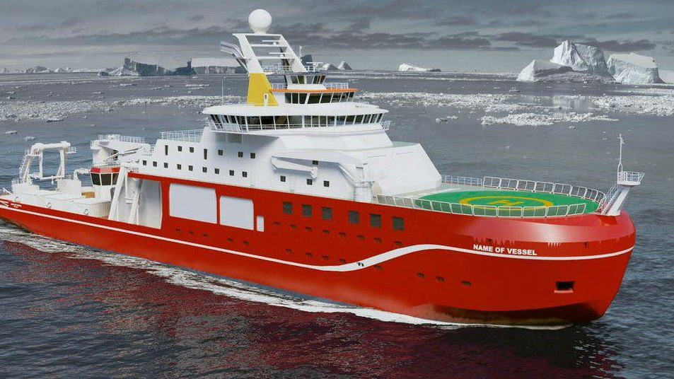 The RRS David Attenborough (PHOTO: Twitter/NERC)