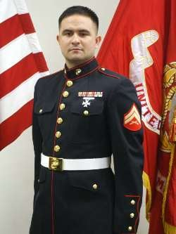 Corporal Dustin Duvanich, United States Marine Corps
