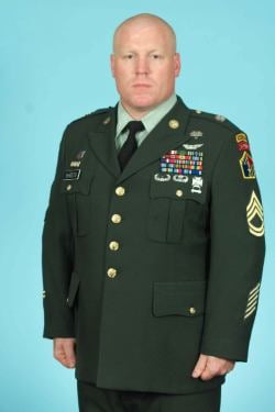 Sergeant First Class Zane Sheets, United States Army