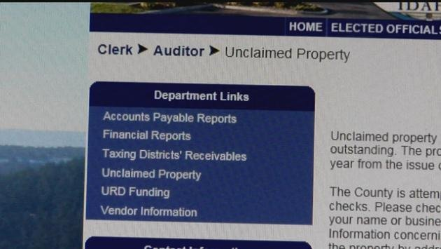 You can collect your money by filling out a form at the Kootenai County Auditor's Office or by going online.