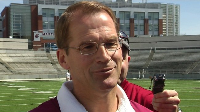 Washington State University Director of Athletics Jim Sterk