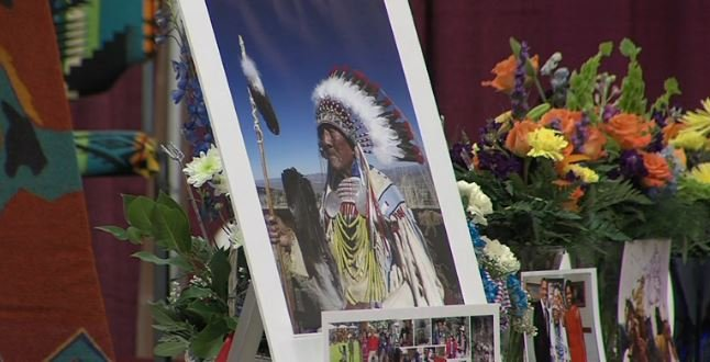 Funeral services were held Wednesday for Crow Chief Doctor Joseph Medicine Crow.