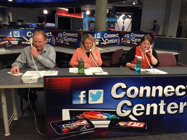 Representatives from the BBB came to KHQ to answer questions about IRS phone scams on Thursday.
