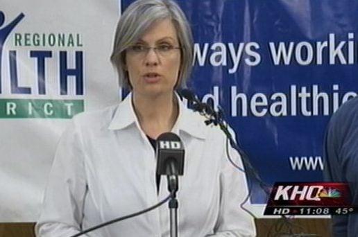 Spokane Regional Health District spokeswoman Julie Graham