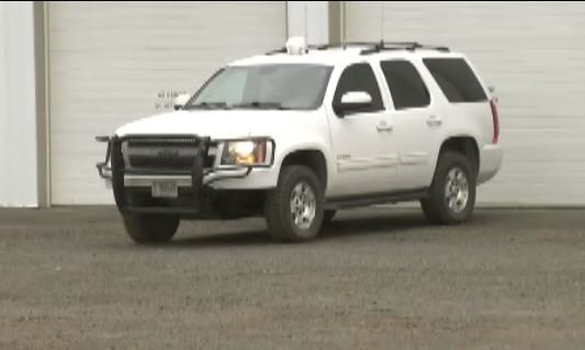 This Chevy Tahoe is similar to the one that was stolen.