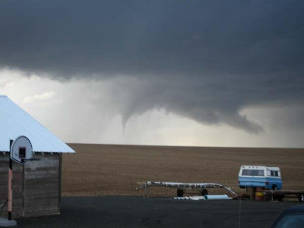 Nws Confirms F0 Tornado Touched Down North Of Davenport