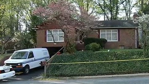Police are trying to determine why a person opened fire on firefighters who were responding to a call for help at a home in a Maryland suburb of Washington. Photo: NBC