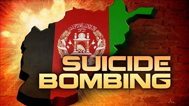 An Afghan official says a possible suicide bomber carried out an attack in Kabul, the capital. The Taliban has claimed responsibility.