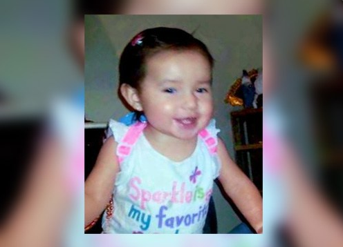 Kenzley Olson was last seen Tuesday morning, and an Amber Alert was issued early Wednesday. (Photo courtesy KTMF News)
