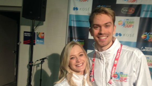 Penny Coomes and Nickolas Buckland