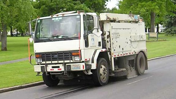 Street sweeping for Bloomsday starts Monday.