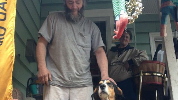 A local veteran whose dog was stolen from him in front of the Spokane courthouse wants to thank anyone and everyone who helped bring his beloved dog, Buck, back to him.
