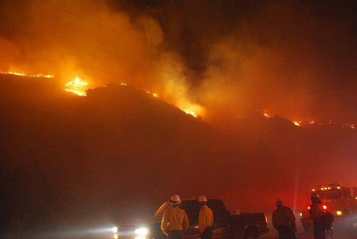 Photo Courtesy: Battalion Chief Brett Schafer, Chelan Co. Fire District