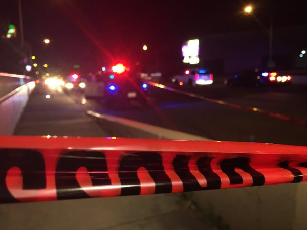 The bicyclist hit was taken to the hospital and later died