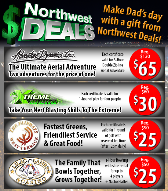 Save 50% off with these great NW Deals partners