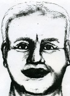 Forensic sketch of home invasion and rape suspect