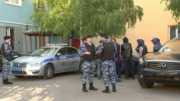 A violent brawl at a Moscow cemetery involving about 200 people has left three people dead and 23 others hospitalized, according to police and health officials. PHOTO: NBC