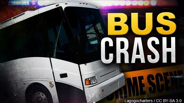 An official says eight people have been killed and some 40 injured in a charter bus crash in far South Texas.