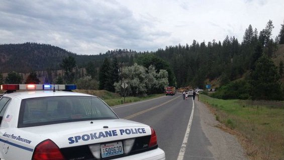 WSP confirms one person has died in a head-on crash Saturday afternoon.
