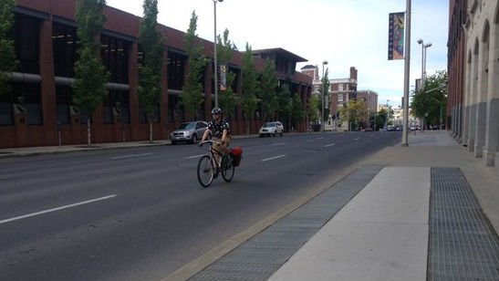 It's National Bike to Work Week and while there are more bike lanes being added to the city of Spokane, are Spokane drivers used to them?