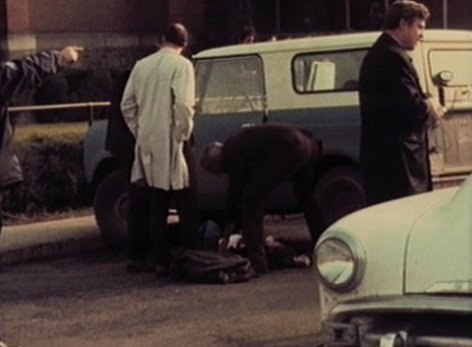 Scene from 1971 St. Aloysius Church shooting