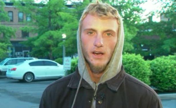 Dillon Hendershot arrived in Spokane from Portland Friday morning