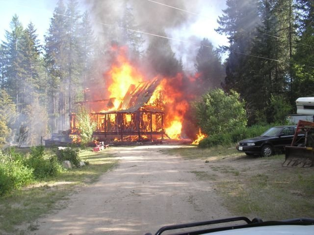 Photo courtesy of Mark A. Beck Fire Chief Stevens County Fire District No. 1