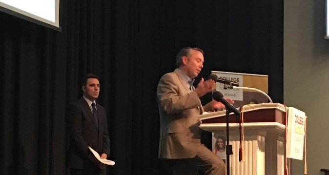 Spokane Mayor David Condon proclaims College Signing Day in Spokane