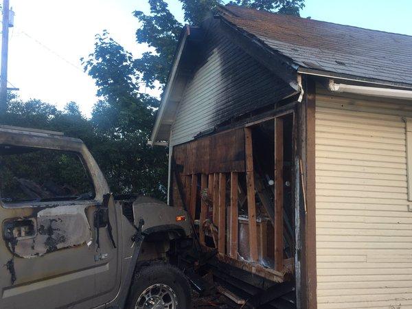 Car fire spreads to home in spokane spokane north idaho news