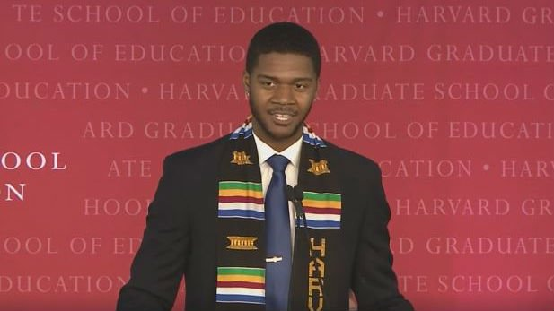Donovan Livingston. Photo: Harvard School of Education/Facebook