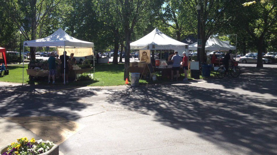 Riverfront Park is hosting a farmers' market for the first time in 2016.