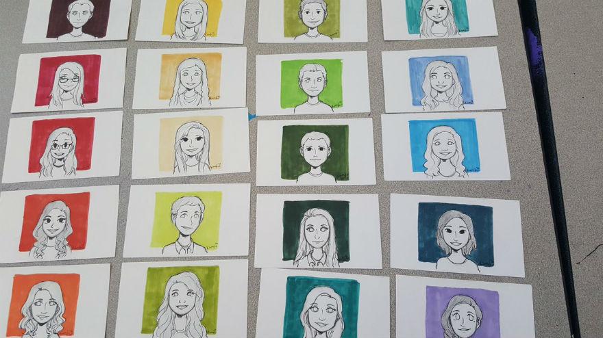 Some of Kiara Lime's portraits