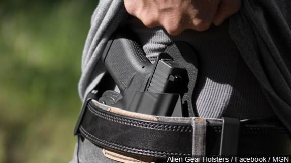 A federal appeals court says people do not have a right to carry concealed weapons in public under the 2nd Amendment.
