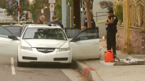 Los Angeles Mayor Eric Garcetti says a heavily armed man arrested in Southern California told police he was in the area for West Hollywood's gay pride parade. Photo: NBC