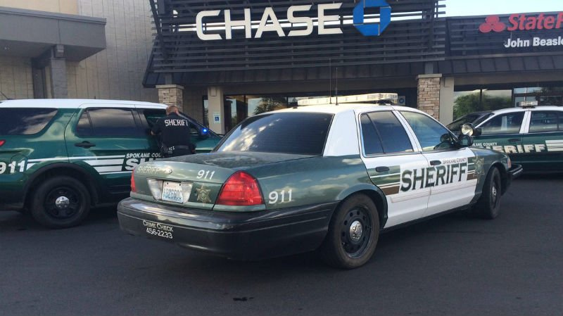An armed robbery happened at Chase Bank Tuesday evening.