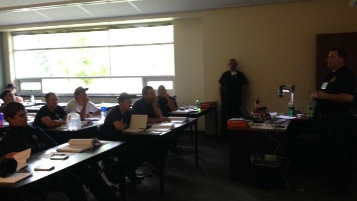Wildfire training began Saturday at Deer Park High School.