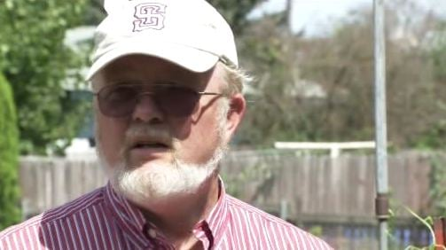 Jerry Larson thinks what he found might be a meteorite