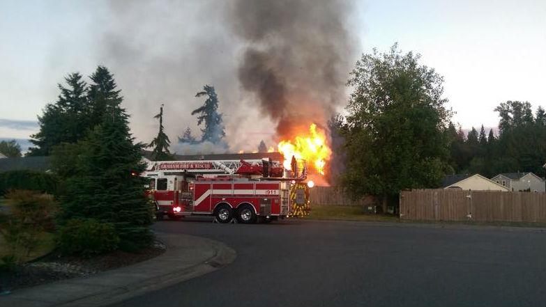 Photo: Graham Fire & Rescue Facebook