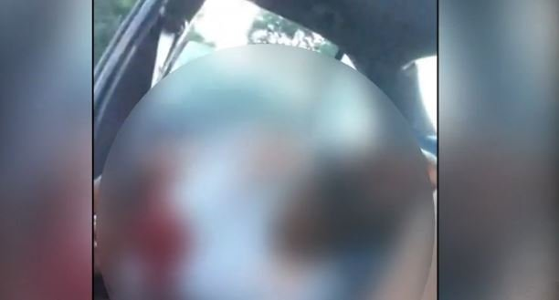 A video posted Wednesday night on Facebook Live appeared to show an incident like the one police described.