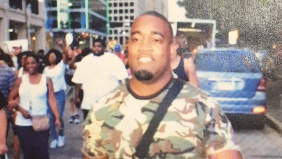 """Mark Hughes, tells Dallas TV station KTVT that he """"flagged down a police officer"""" immediately after finding out he was a suspect. He says police lied during a 30-minute interrogation, telling him they had video of him shooting."""