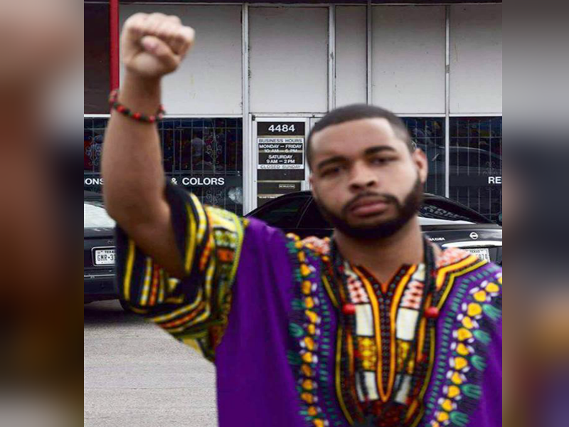 Micah Xavier Johnson, suspect who was killed after a standoff in the ambush of 12 Dallas police officers on Friday. (PHOTO: Facebook)