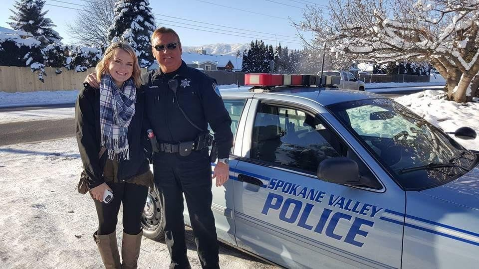 Chamberlin and her two sisters live at home with their dad, veteran Spokane Valley Sheriff Deputy, Craig Chamberlin.