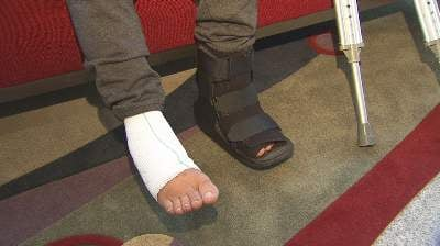 Meyer sustained injuries to both feet