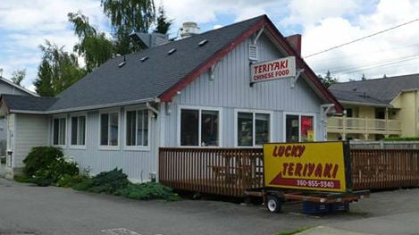 Lucky's Teriyaki asked that law enforcement not dine there (PHOTO: Skagit County Sheriff's office/Facebook)