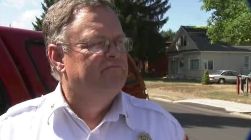 Battalion Chief Mike Inman, a firefighter since 1976, is retiring to help other firefighters keep their jobs