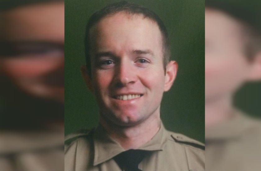 Deputy Riley Quine was fired Wednesday
